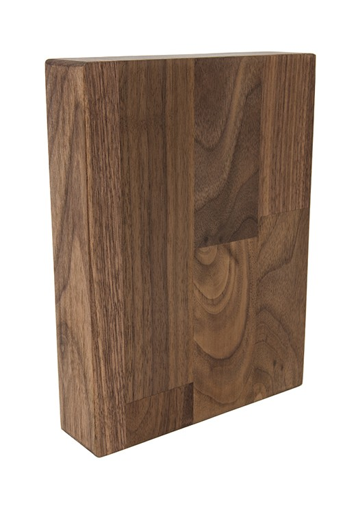American Black Walnut Worktop Sample 250mm x 150mm x 38mm