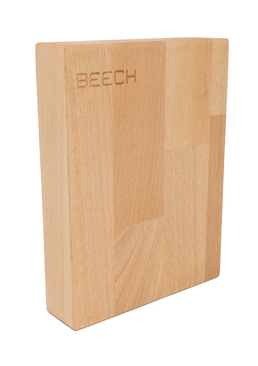 Beech Worktop Sample 250mm x 150mm x 38mm