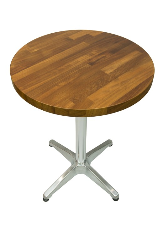 Iroko Table Top 600mm Round