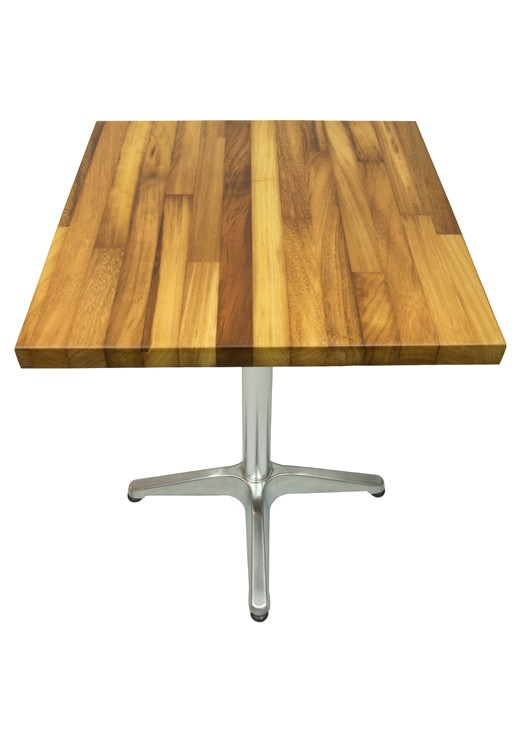 Iroko Table Top 600mm Square