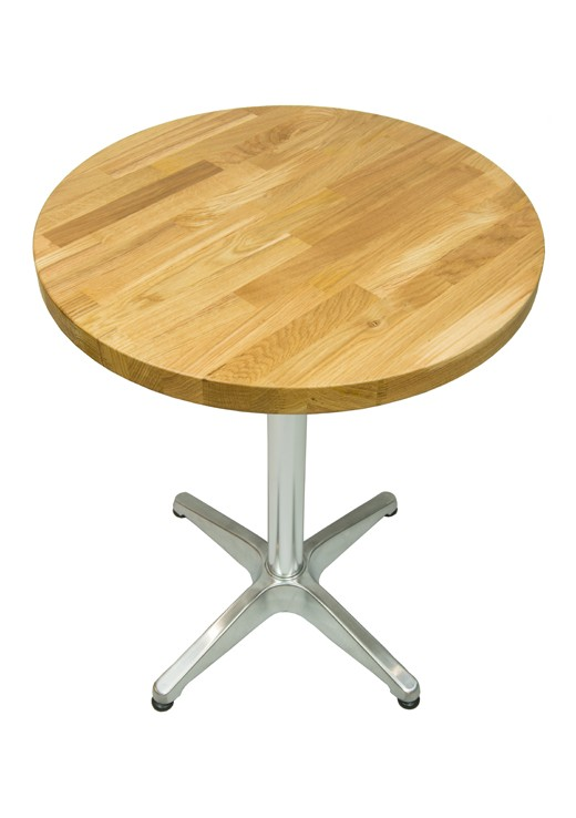 Oak Table Top 600mm Round Solid Wood, Round Table Tops Uk