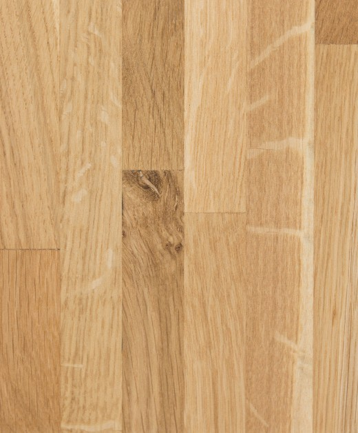 Oak Worktop 20mm Staves 1m x 620mm x 38mm