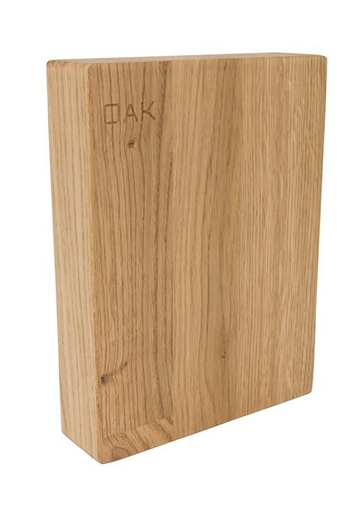 Oak Worktop Sample 250mm x 150mm x 38mm