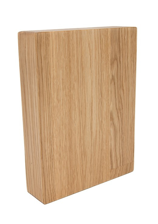 Prime Oak Worktop Sample 250mm x 150mm x 38mm