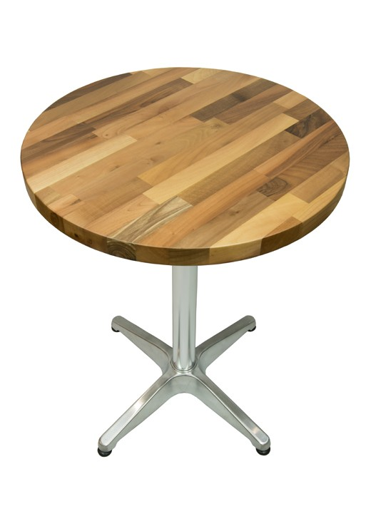 Walnut Table Top 600mm Round