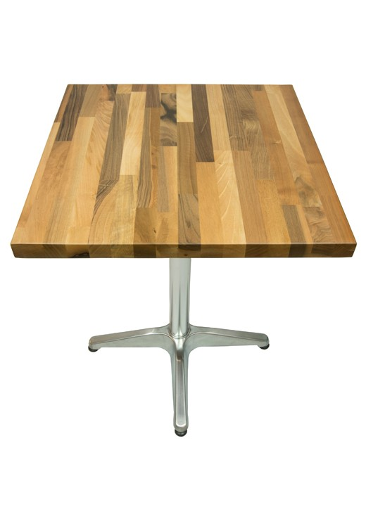 Walnut Table Top 600mm Square