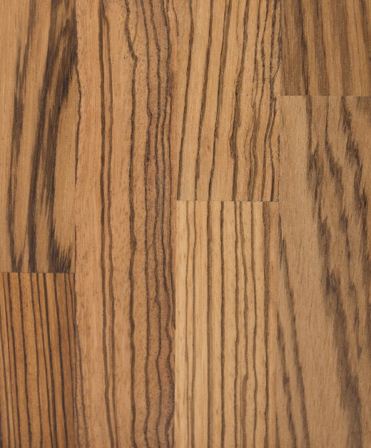 Zebrano Upstand 4m x 75mm x 18mm