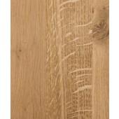 Rustic Oak Full Stave Worktop 2.4m x 620mm x 38mm
