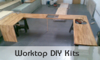 Wood Worktop DIY Kits